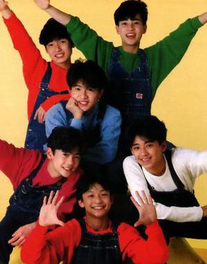 1988年SMAPデビュー時の画像