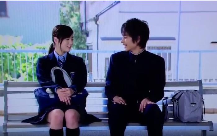 中村蒼ドラマ学校じゃ教えられないで朝倉あきと共演。