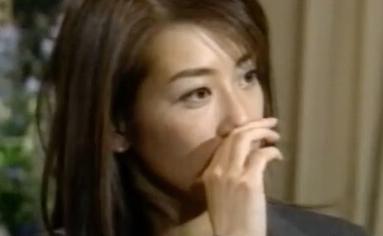 山本万里子、松方弘樹との不倫についてインタビューを受ける。