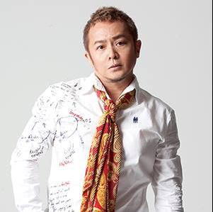 原田真二2016年のポスター画像。今は激太りで別人に。