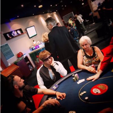 GACKTカジノ遊び。一流芸能人は遊び方もグローバル!