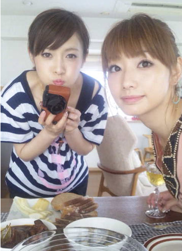 眞鍋かをり杉崎美香と家飲み。