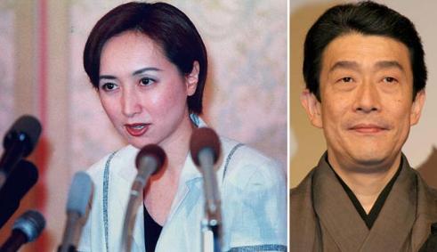 近藤サト2000年の離婚会見。坂東三津五郎とは1年7ヶ月で破局。