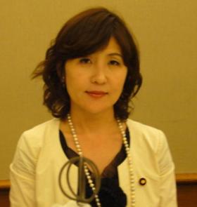 稲田朋美の現在画像