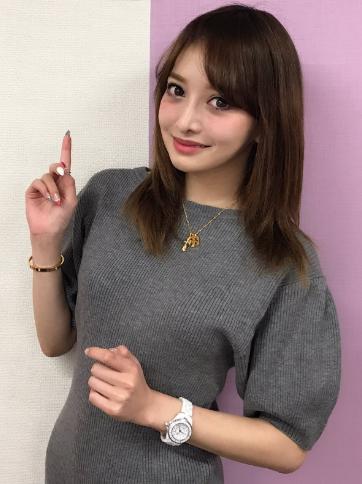 モデル伊東亜里沙が中間淳太の彼女匂わせ。お揃いのブレスレット