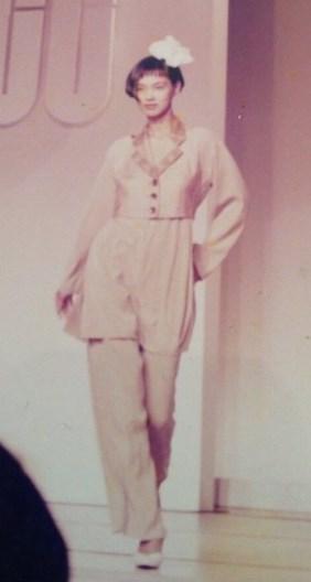 池田エライザ母親のモデル時代