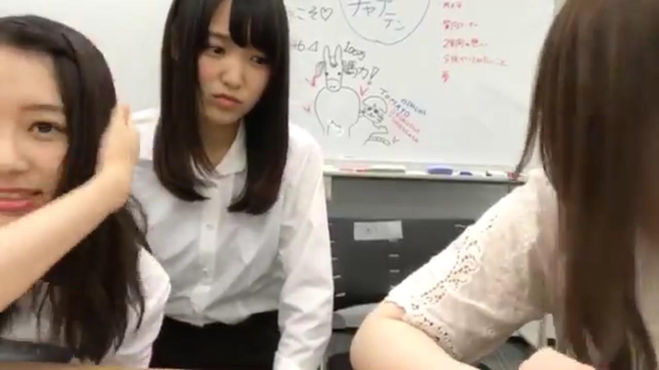 長濱ねるが菅井友香の椅子を蹴った?Showroom