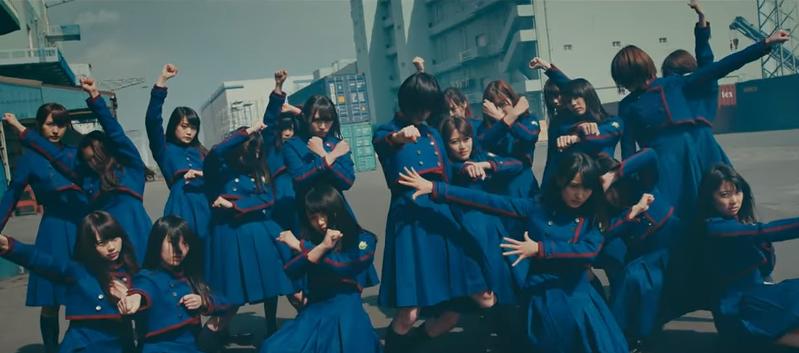 欅坂46、不協和音のPV画像