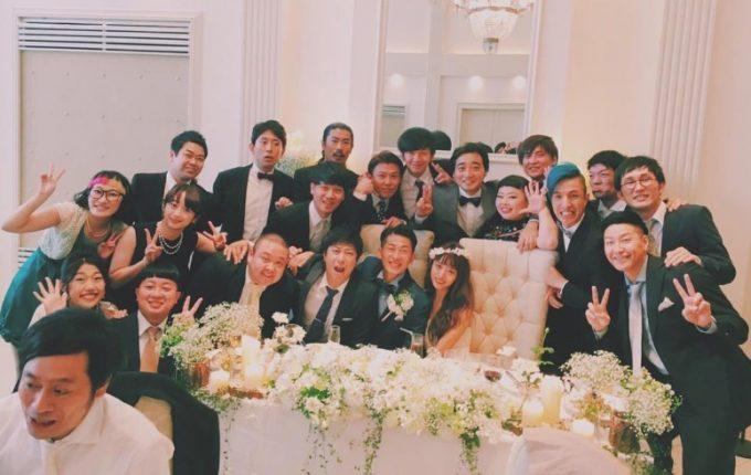 近藤千尋とジャンポケ太田の結婚式