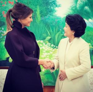 メラニア夫人韓国訪問