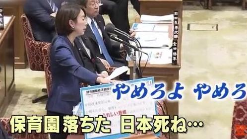 山尾志桜里の国会発言