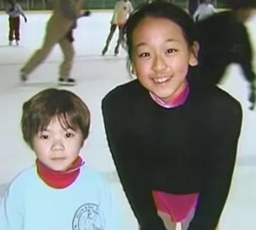 宇野昌磨の子どもの頃、浅田真央とのツーショ画像