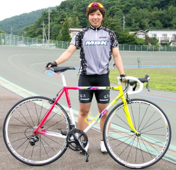 小平奈緒の自転車トレーニング