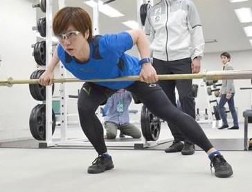 小平奈緒のトレーニング風景