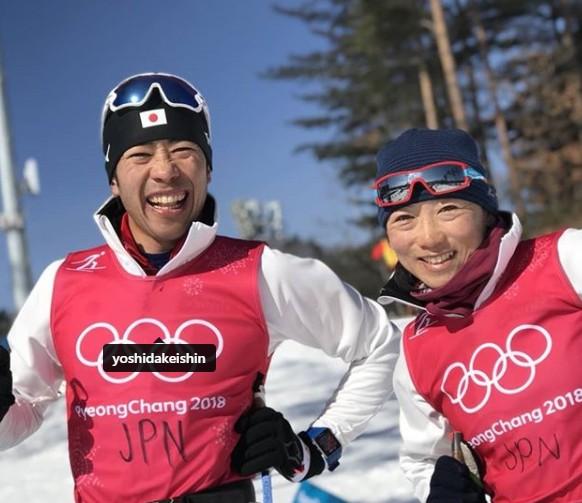 石田正子と吉田圭伸のツーショ画像