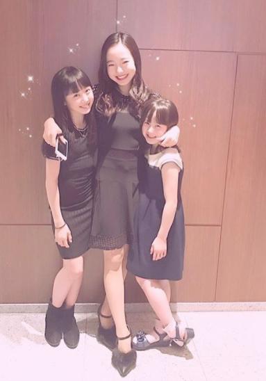 本田真凜、本田望結、本田沙来三姉妹画像