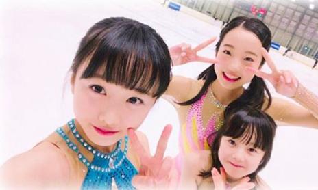 本田真凜、本田望結、本田沙来の三姉妹画像