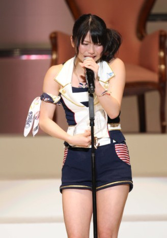 横山由依2011年の総選挙は緊張で過呼吸に