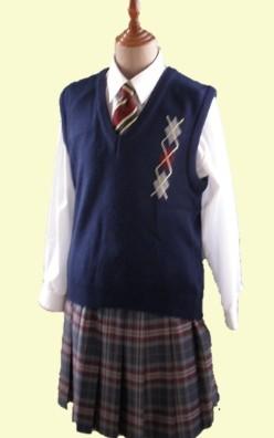 防府西高校の制服!ゆみりんが着ていたやつ!