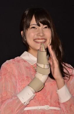 入山杏奈ちゃんの手は結構重症だった