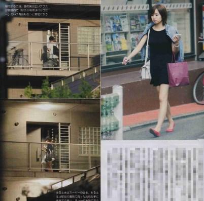 青山玲子がフライデーされ渋谷すばると同棲発覚か