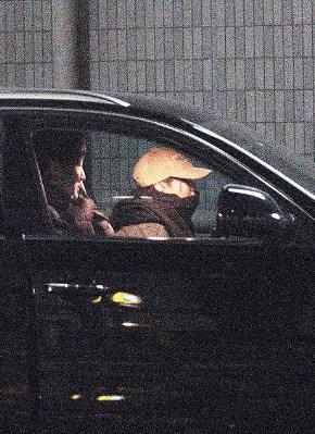 広瀬アリスが田中大貴の車に乗っている!