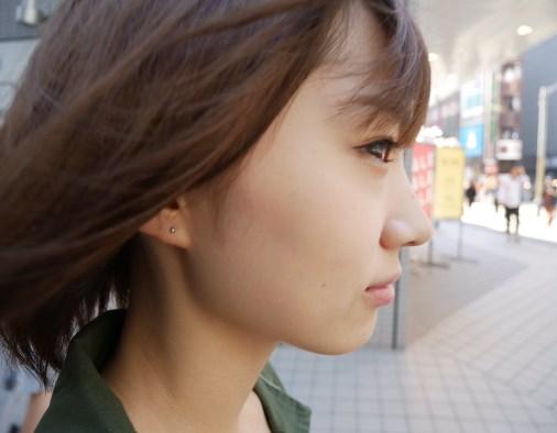 大田夢莉右耳のピアスはいくつ?