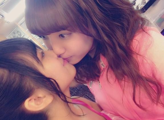加藤玲奈みーおんの生誕祭でもキス