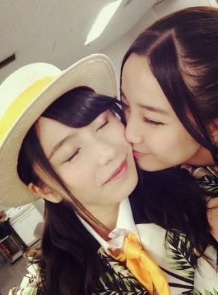 加藤玲奈ゆいはんにキス