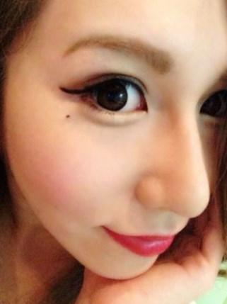 ダレノガレ明美の目が格段に大きくなってる