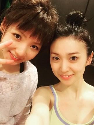 野呂佳代大島優子とホットヨガ