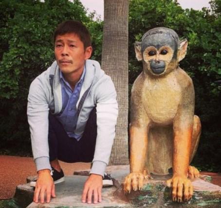 前澤友作猿に激似でウケる