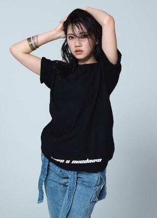 北川綾巴ちゃんクールなモデルも似合う!