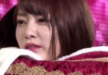 松井珠理奈とさくらたんのハグ