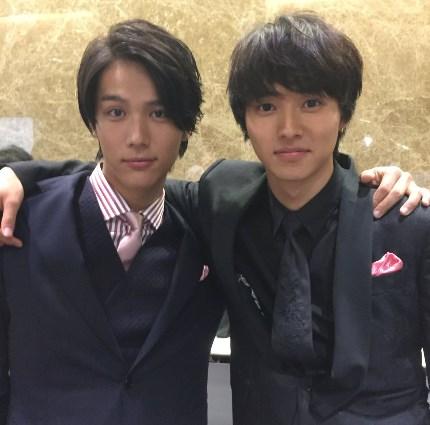 中川大志と山崎賢人の顔大きさ比較
