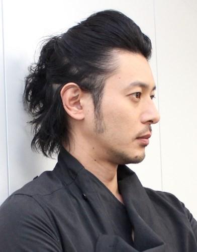 オダギリジョーの髪型は海外では主流