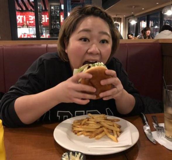 やしろ優リバウンドはハンバーガー原因?