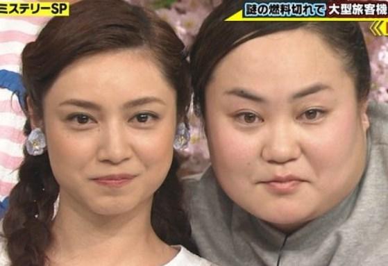 ゆいPと平愛梨は似ている?