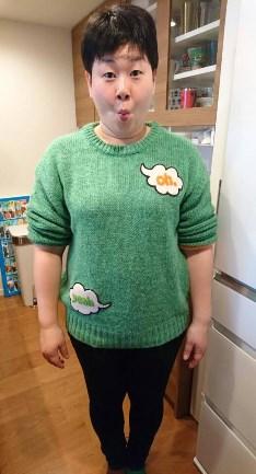 大島美幸が90キロまで太った