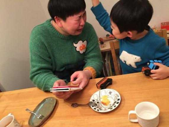 大島美幸太ったことを息子に励まされる