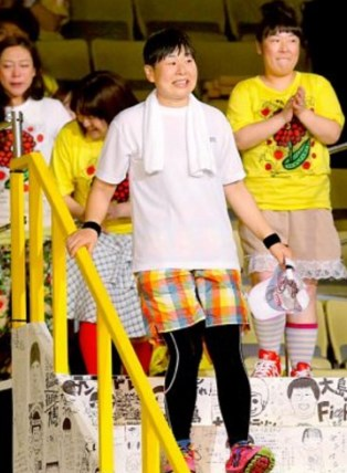 大島美幸が24時間テレビを期に痩せた