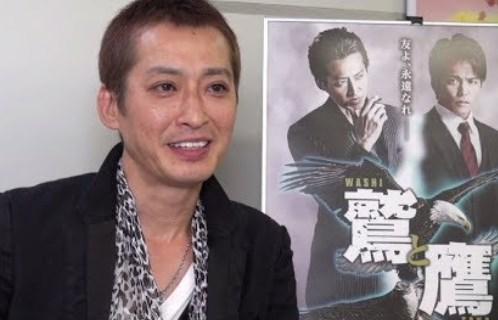 大沢樹生が麻薬を扱う映画で主演