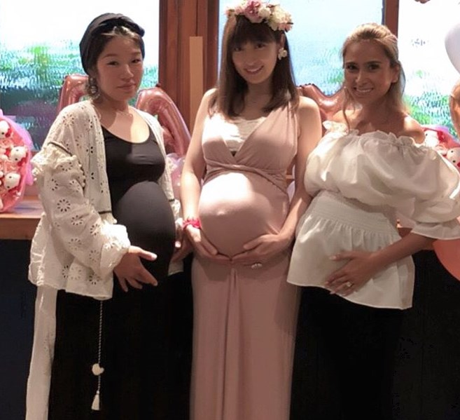 熊田曜子妊娠中の体重は64キロ