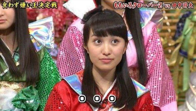 百田夏菜子の顔色が悪い