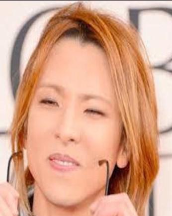 YOSHIKIのすっぴんがブス